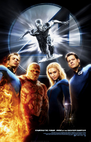 Fantastic Four: Rise of the Silver Surfer !