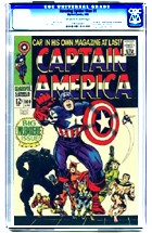 Captain America No. 100
