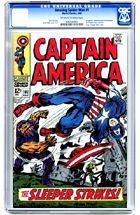 Captain America No. 102