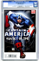 Captain America: Man Out of Time No. 1