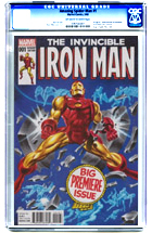 Invincible Iron Man No. 1