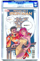 Invincible Iron Man No. 4
